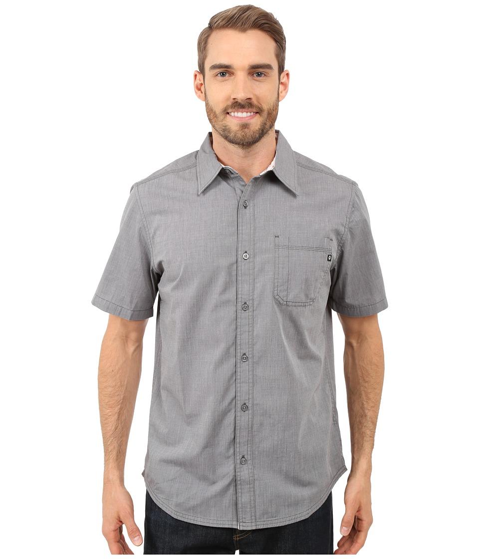 Marmot Dorset Short Sleeve Slate Grey Mens Short Sleeve Button Up
