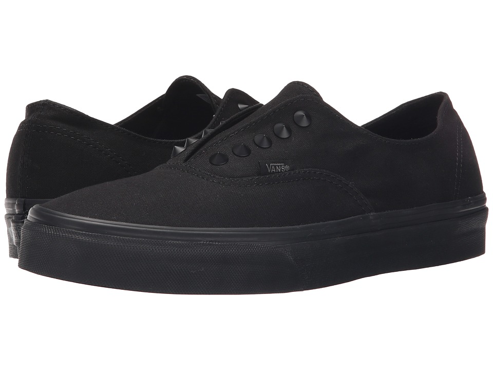 Vans Authentic Gore Studs Black/Black Skate Shoes