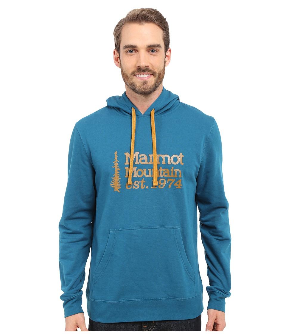 Marmot 74 Hoodie Oceanside Mens Sweatshirt