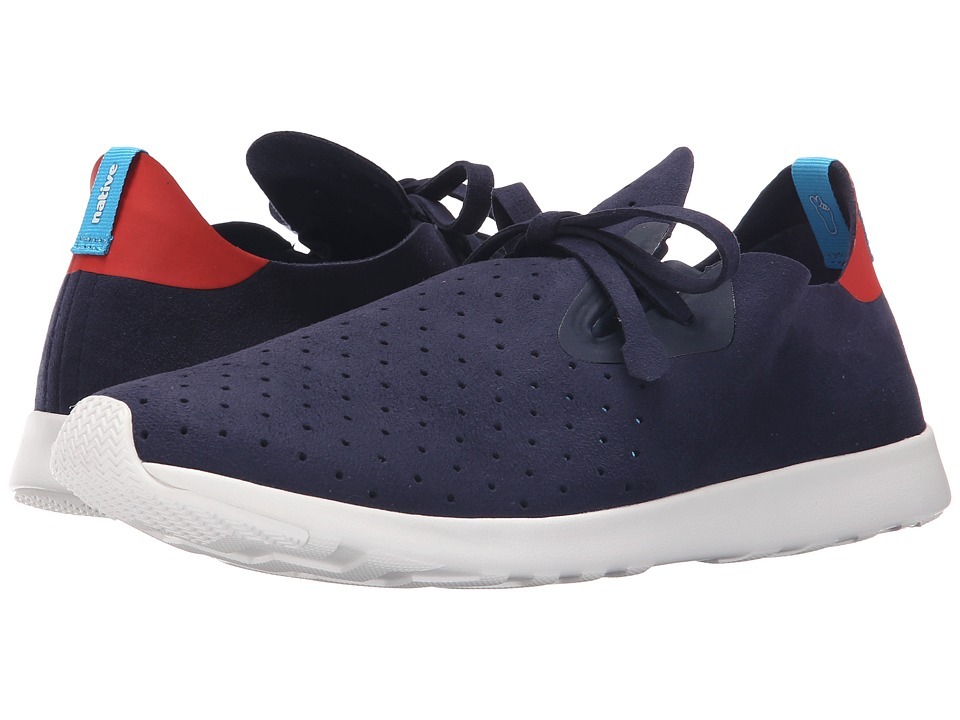 Native Shoes Apollo Moc Regatta Blue/Torch Red/Shell White Shoes