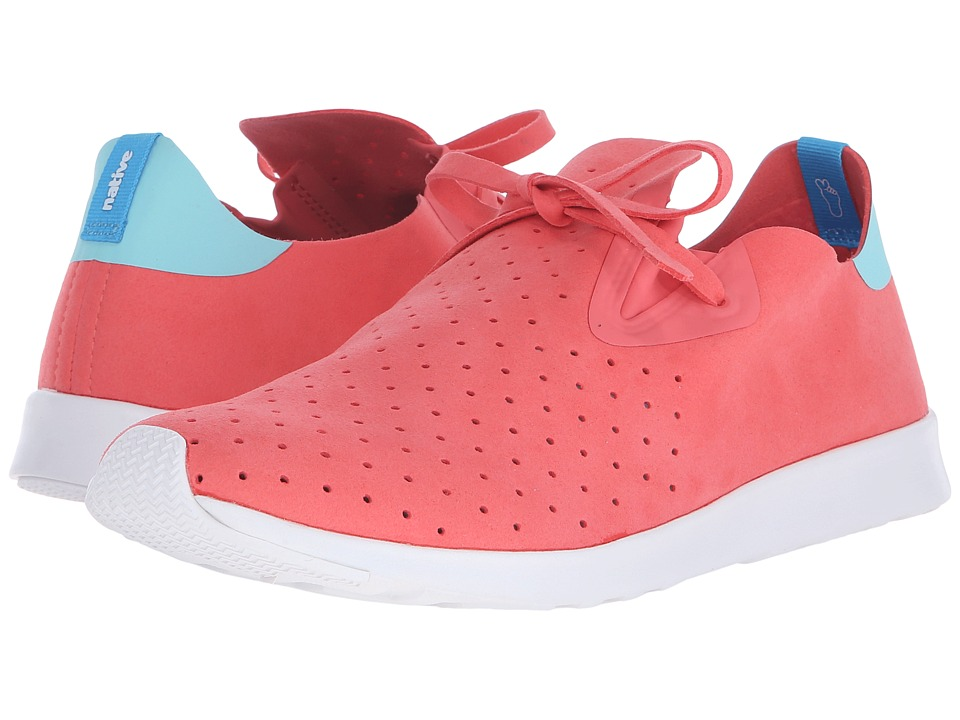 Native Shoes Apollo Moc Snapper Red/Cabo Blue/Shell White Shoes