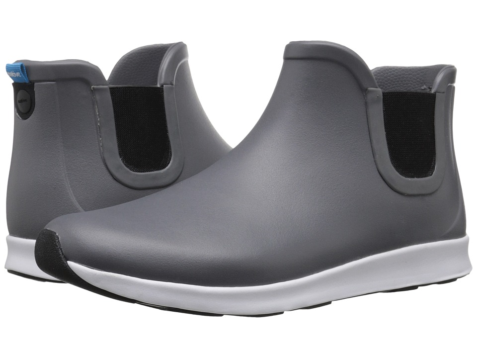 Native Shoes Apollo Rain (Dublin Grey/Shell White/Jiffy Black Rubber) Rain Boots