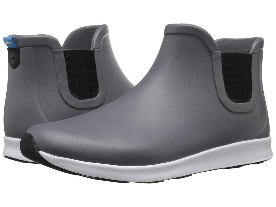 Native Shoes Apollo Rain (Dublin Grey/Shell White/Jiffy Black Rubber) Rain Boots