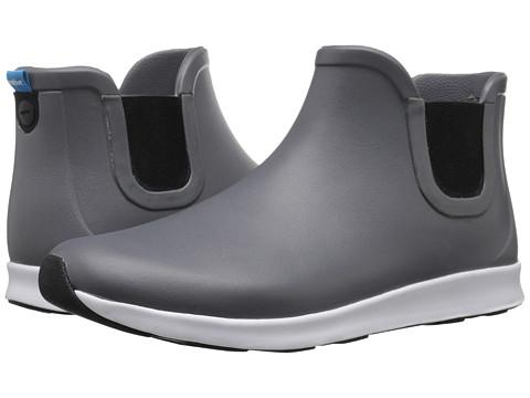 Native Shoes Apollo Rain - Dublin Grey/Shell White/Jiffy Black Rubber