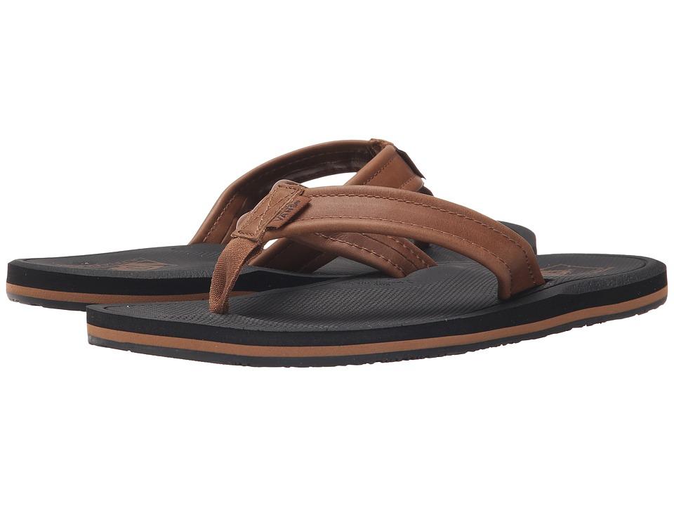 Vans - Nexpa Leather (Black/Brown) Men