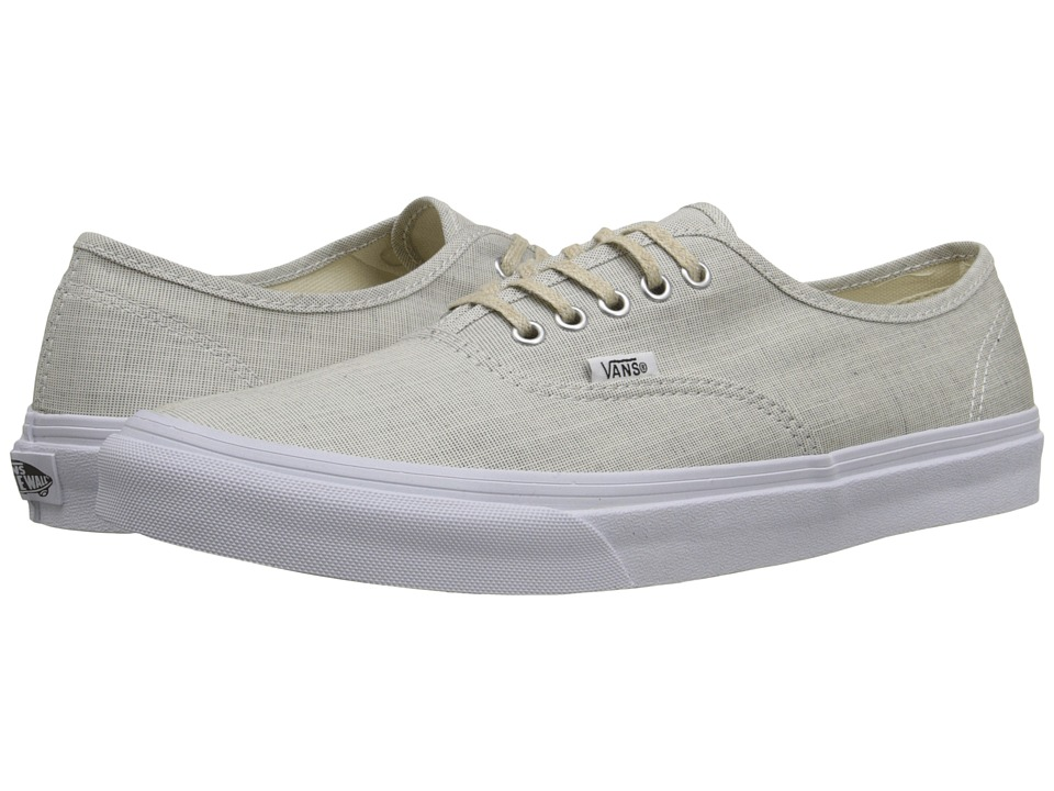 Authentic Slim ((Chambray) Gray/True White) Skate Shoes