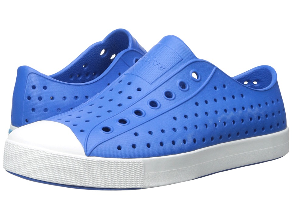 Native Shoes Jefferson Barracuda Blue/Shell White Shoes