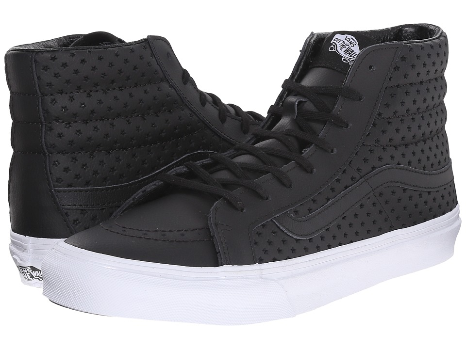 SK8-Hi Slim ((Perf Stars) Black/White) Skate Shoes