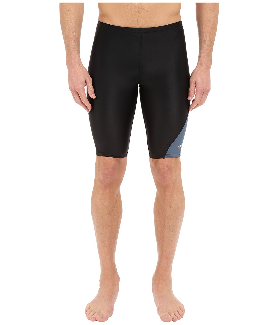 Speedo Revolve Splice Jammer (Speedo Black) Men's Swimwear