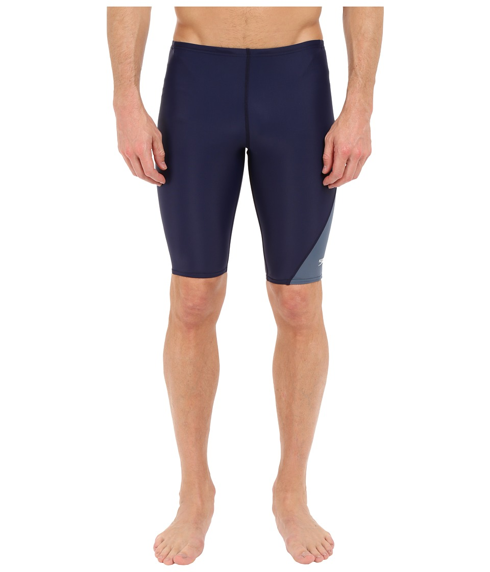 Speedo Revolve Splice Jammer (Speedo Navy) Men's Swimwear