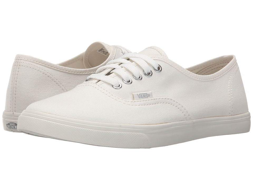 Vans Authentic Lo Pro Blanc de Blanc/Blanc de Blanc Skate Shoes