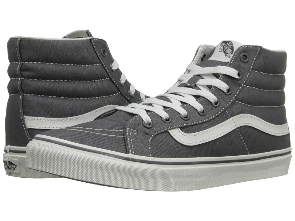 Vans SK8 Hi Slim Castlerock/Blanc de Blanc Skate Shoes
