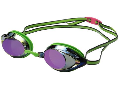 Speedo Vanquisher 2.0 Mirrored Goggle - Key Lime