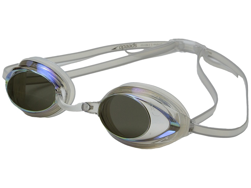 Speedo Wms Vanquisher 2.0 Mirrored Goggle Clear Water Goggles
