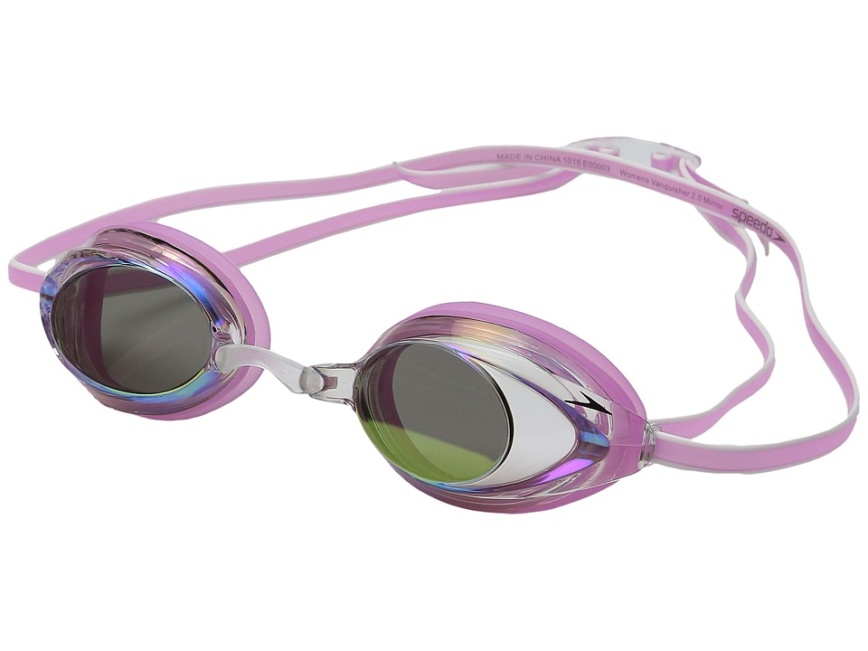 Speedo Wms Vanquisher 2.0 Mirrored Goggle Pink Water Goggles