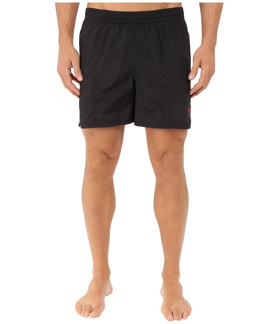 Speedo Deck Volley Speedo Black Mens Swimwear