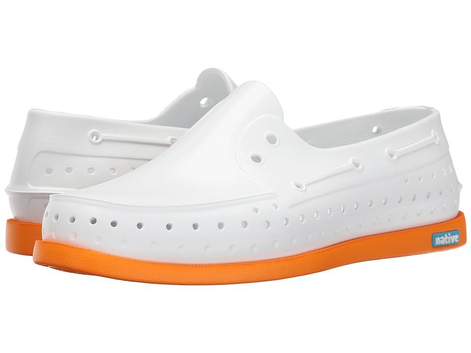 Native Shoes - Howard (Shell White/Begonia Orange) Shoes