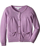 Pumpkin Patch Kids - Core Essentials Girls Cardigan (Infant/Toddler/Little Kids/Big Kids)