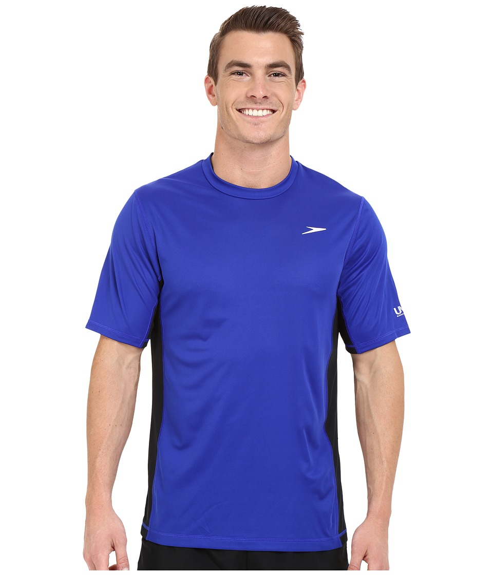 Speedo Longview Swim Tee Atlantic Blue Mens Swimwear
