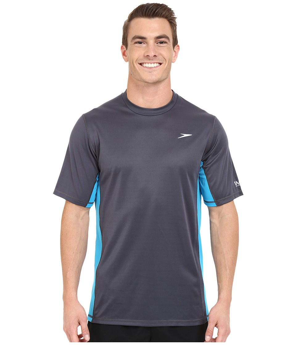 Speedo Longview Swim Tee Granite Mens Swimwear