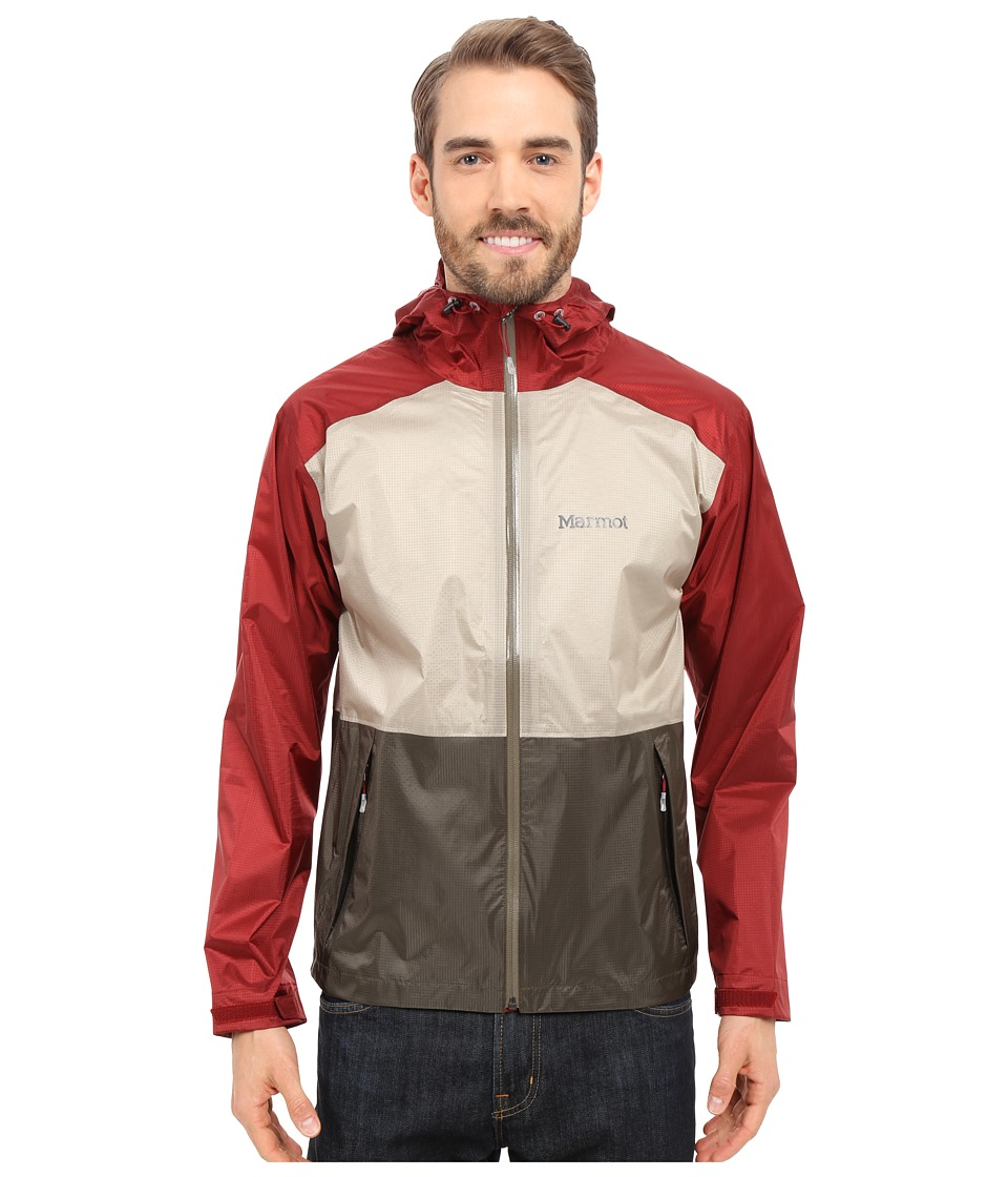 Marmot Mica Jacket CanvasDark Crimson Mens Jacket