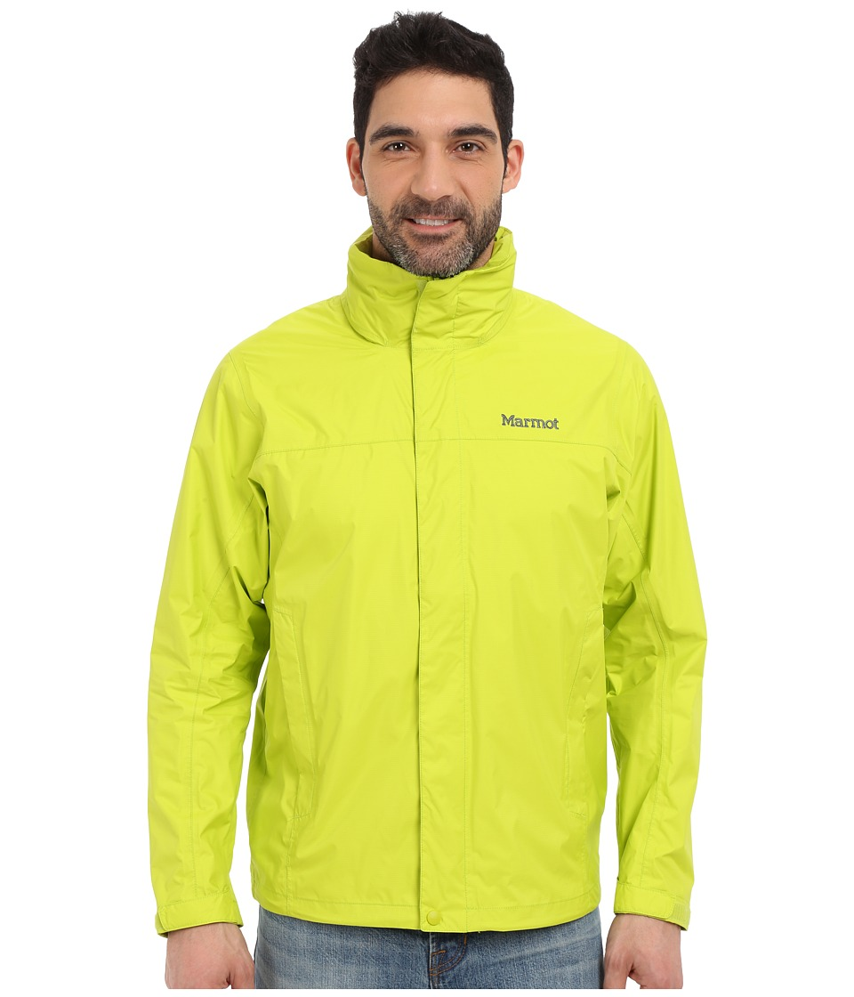 Marmot PreCip Jacket Bright Lichen Mens Jacket