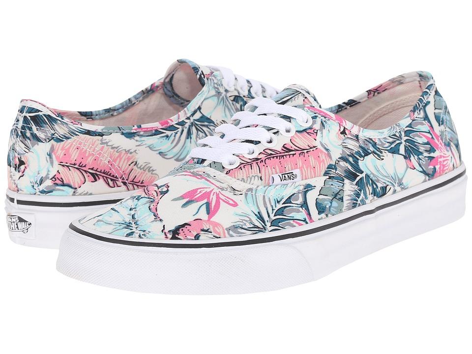 Vans Authentic Tropical Multi/True White Skate Shoes