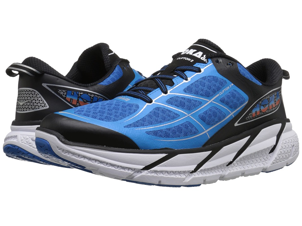 Hoka One One Clifton 2 Diretoire Blue/Flame Mens Running Shoes