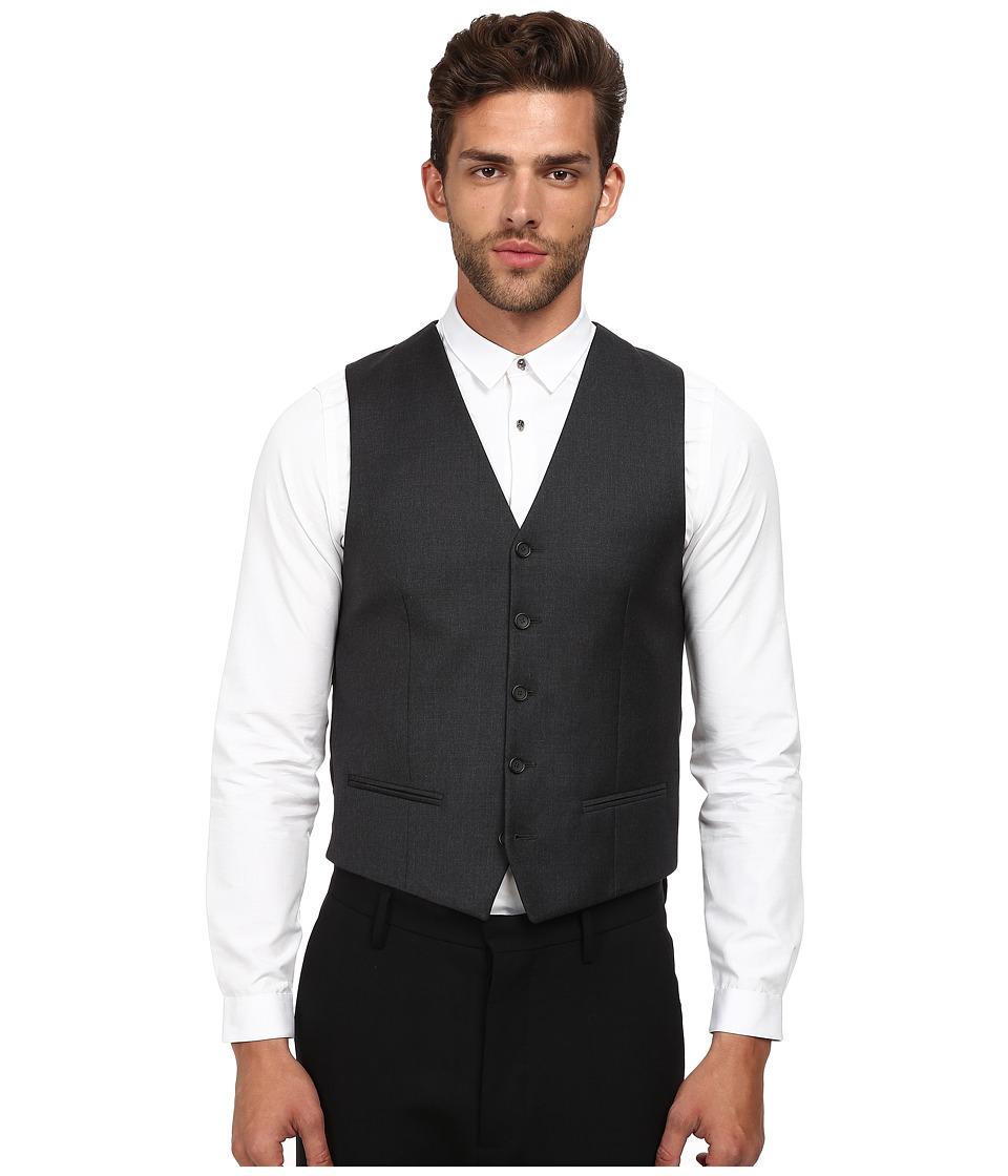 The Kooples - Fitted Tailor Super 100 Suit Vest