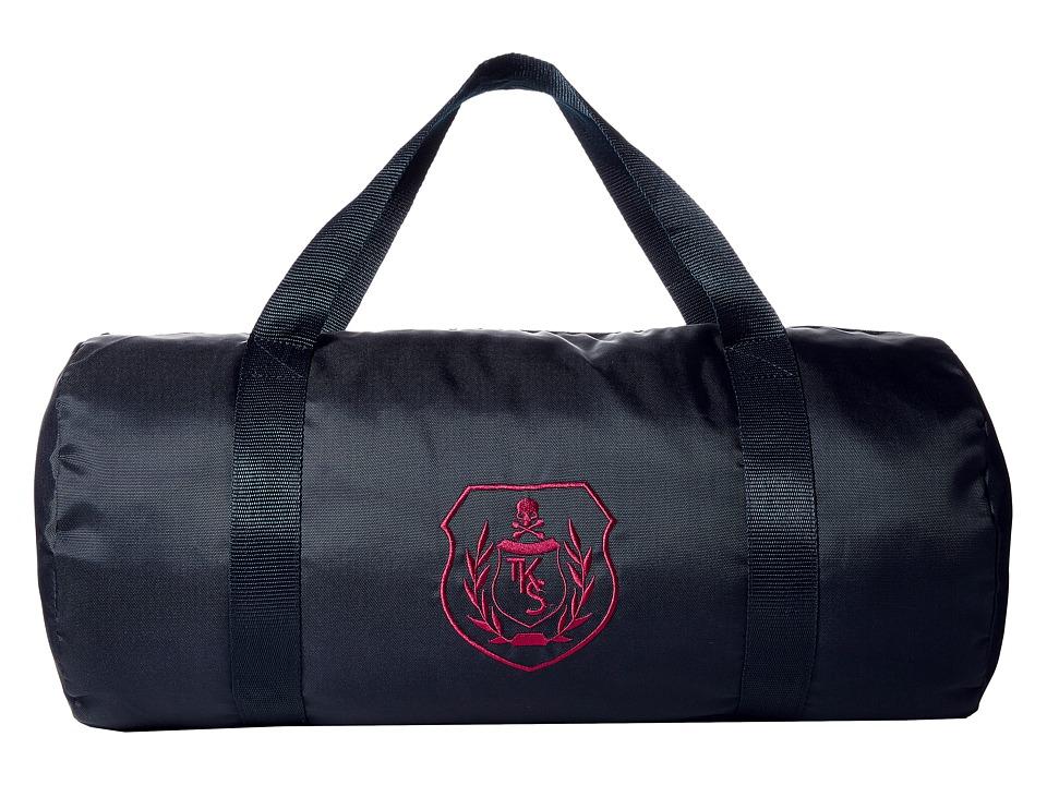 The Kooples Sport Classic Dots Duffel Bag Navy Duffel Bags