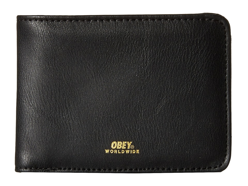 Obey - Gentry Bi-Fold Wallet (Black 1) Wallet Handbags