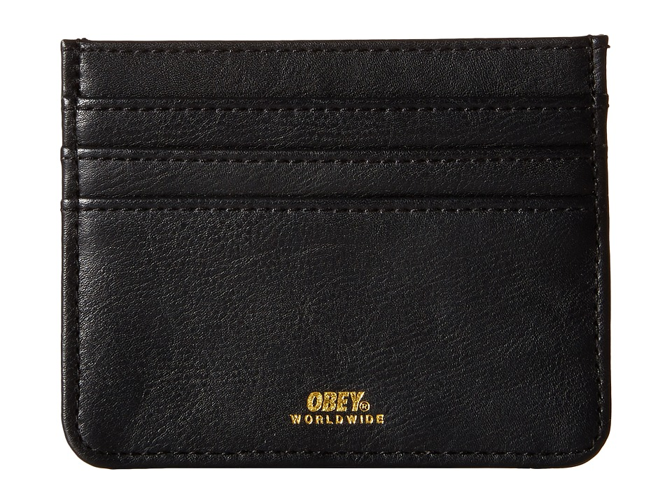 Obey - Gentry ID Wallet (Black 1) Wallet Handbags