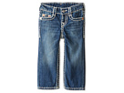 True Religion Kids - Ricky Straight Fit Natural Super T in Altitude (Toddler/Little Kids)