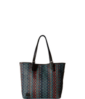 TOMS - Sojourn Patterned Raffia Tote