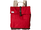 TOMS Trekker Waxed Canvas Backpack (Chili)