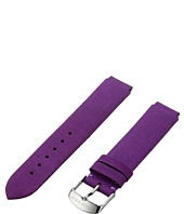 Philip Stein - 18mm Purple Vintage Suede Calf