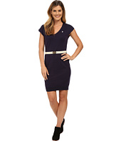 U.S. POLO ASSN. - Sleeveless V-Neck Sweater Dress