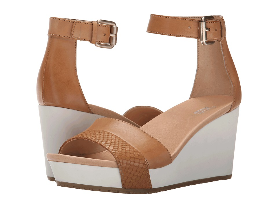 Dr. Scholls Warner Original Collection Sienna Tan Womens Wedge Shoes