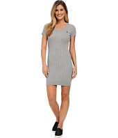 U.S. POLO ASSN. - Striped Cable Knit Dress