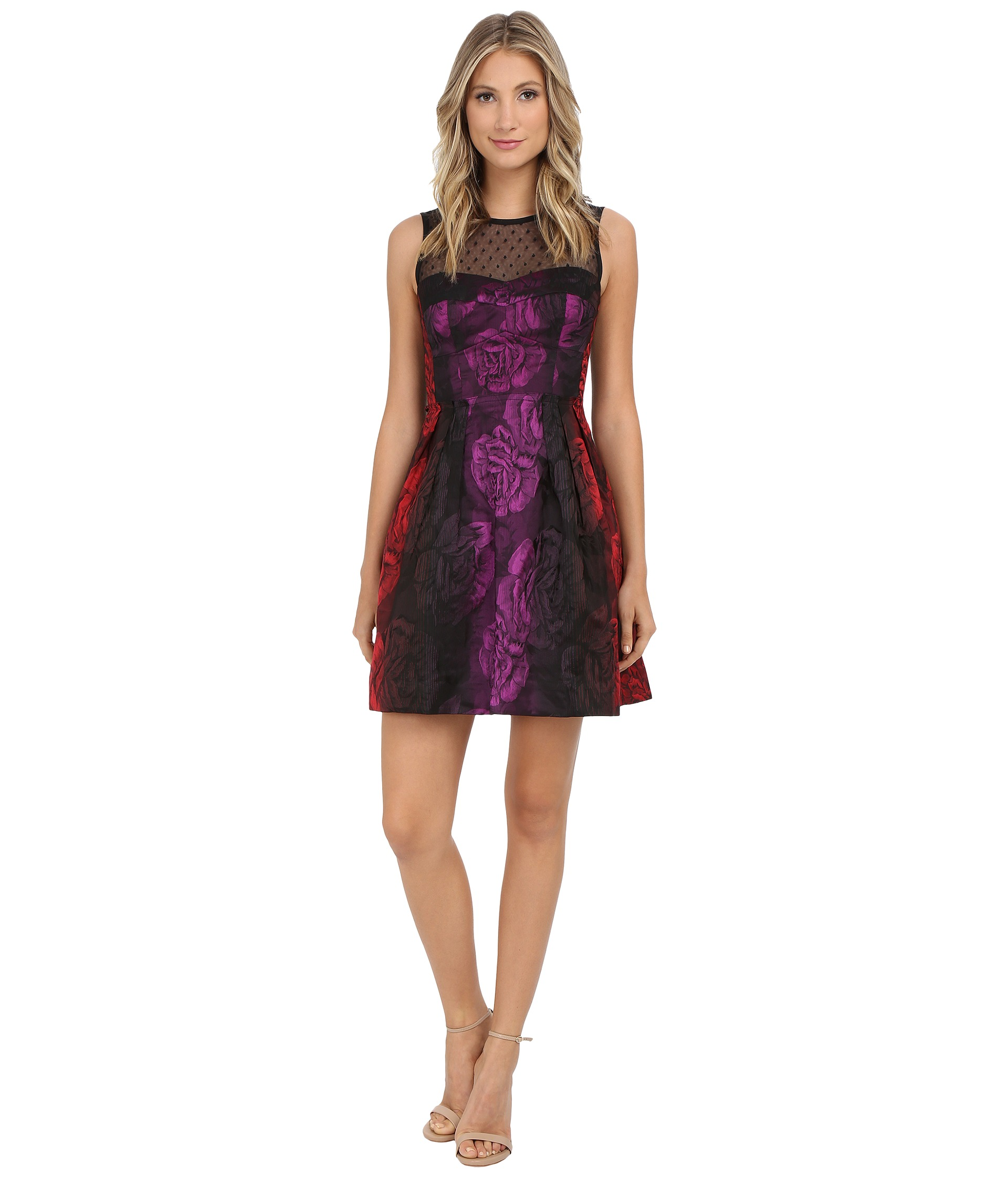 Nanette Lepore Juliet Rose Dress - 6pm.com
