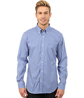 Nautica - Long Sleeve Wrinkle Resistant Blue Check
