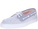 Image of Vans - Chauffette SF ((Stripe) Faded Denim) Women's Lace up casual Shoes