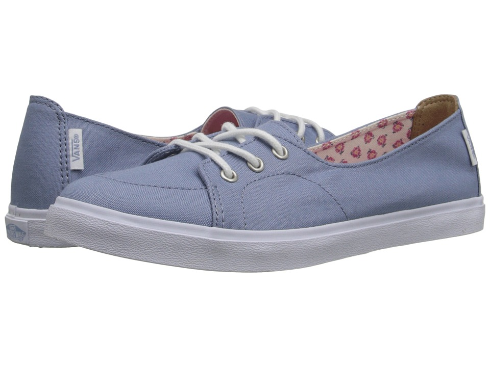 Vans Palisades SF Tropical Floral Faded Denim/True White Womens Slip on Shoes