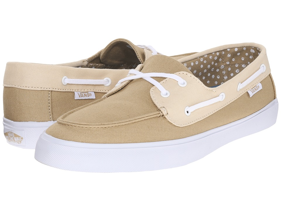 Vans Chauffette SF Two Tone Neutral Womens Lace up casual Shoes