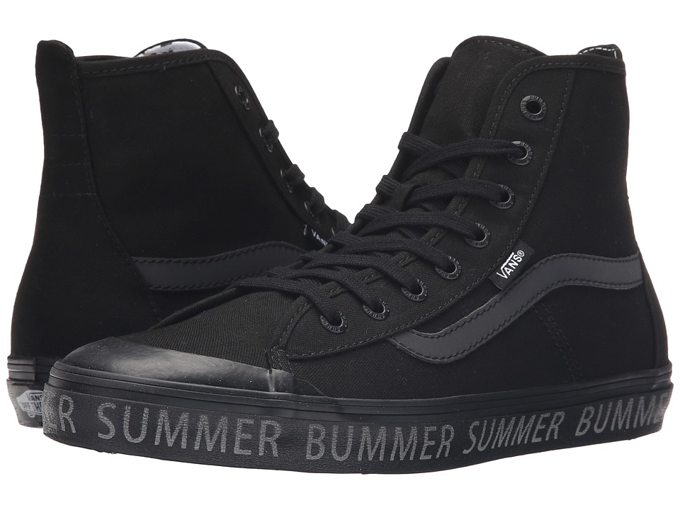 Vans Dazie-Hi ((Summer Bummer) Reflective/Black) Women