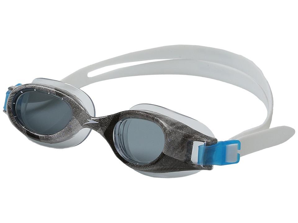 Speedo Jr. Hydrospex Classic Silver Water Goggles