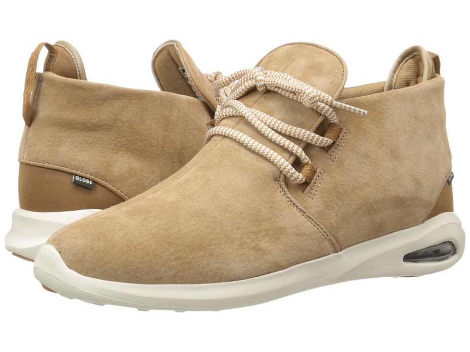 Globe Nepal Lyte (Tan/Antique White Pig Suede) Men