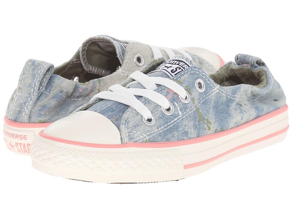 Converse Kids Chuck Taylor All Star Shoreline Little Kid/Big Kid Daybreak Pink/Pistachio Green/Street Sage Girls Shoes