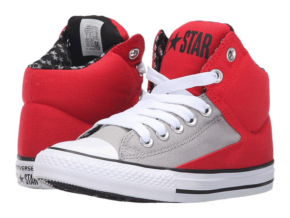 Converse Kids Chuck Taylor All Star High Street Hi Little Kid/Big Kid Casino/Dolphin/White Boys Shoes