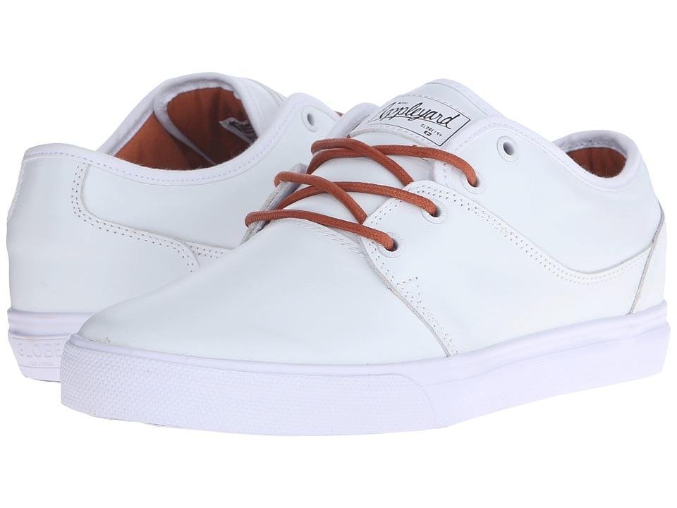 Globe - Mahalo (White Full Grain Leather) Men